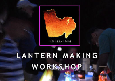 Lantern Making Workshop – August 16, 2017